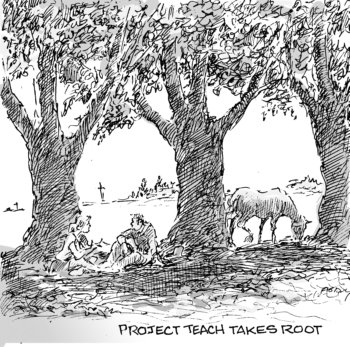 Project Teach takes root