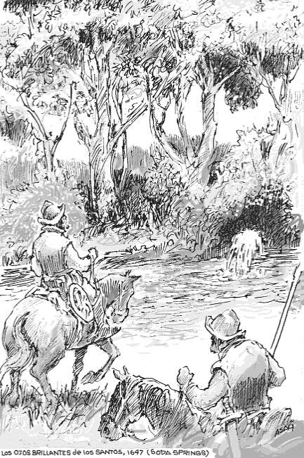 Two men on horses