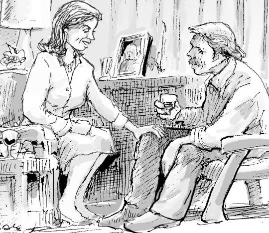 Kindred spirits illustration