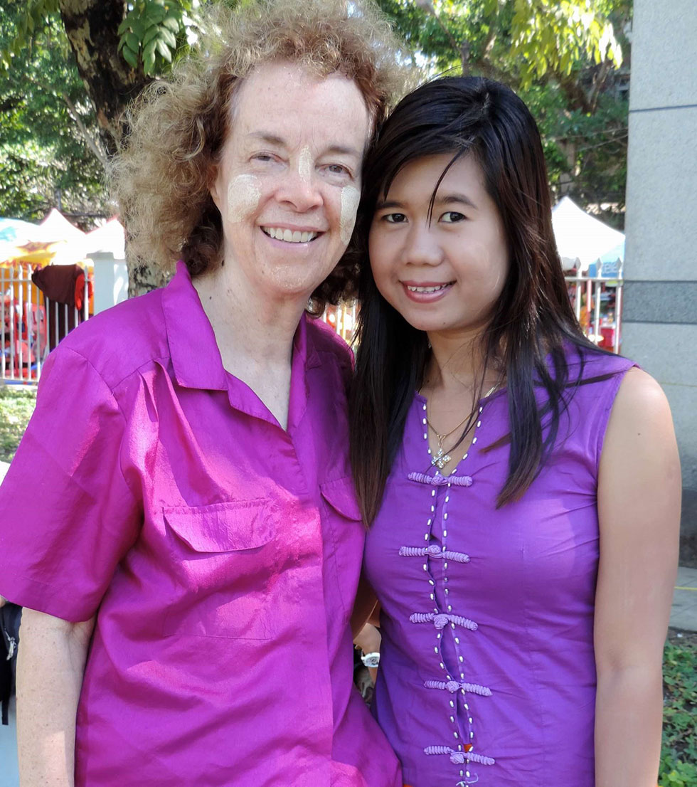 ann and myanmar woman