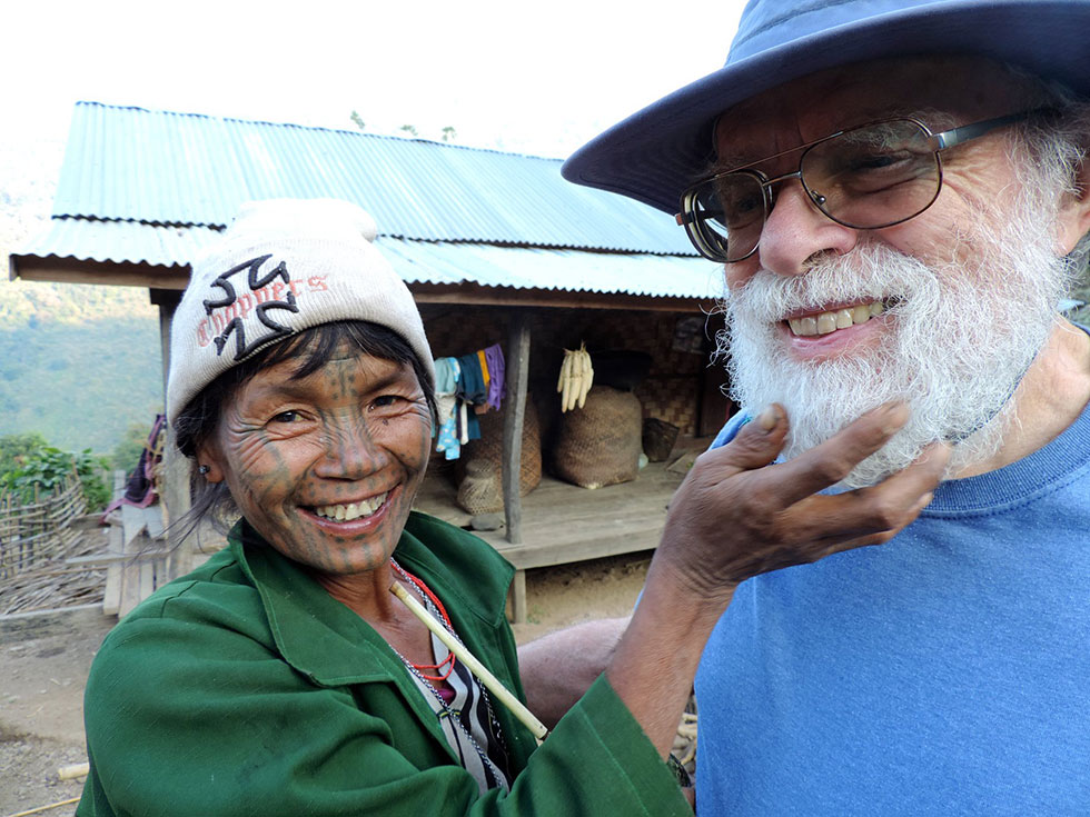 terry and myanmar woman