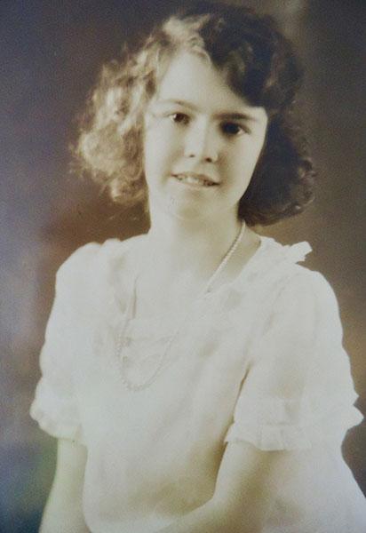 Dorothy at age 15