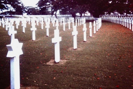 Manila cemetery 1966