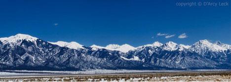 Sangre DeCristos Mountains