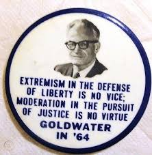 Barry Goldwater pin 1964