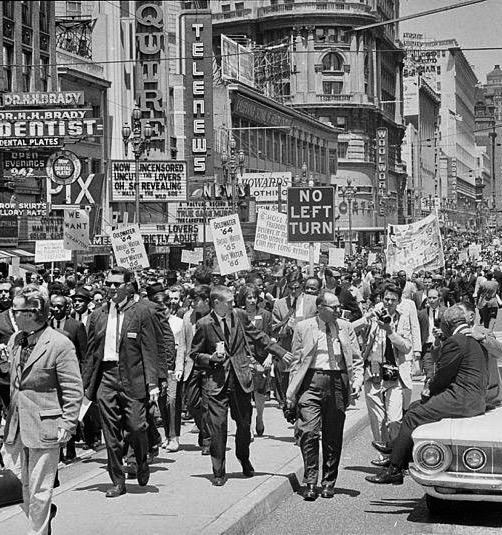 San Francisco protest march 1964