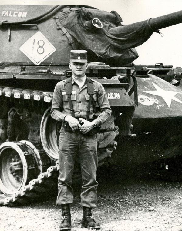 Jack Sigg, facing war.