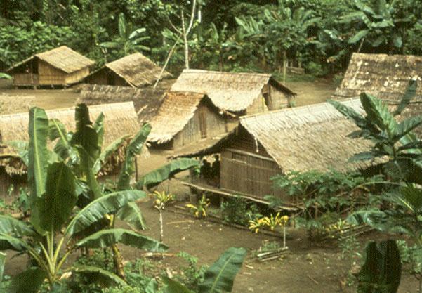 Solomon Islands village Guadalcanal
