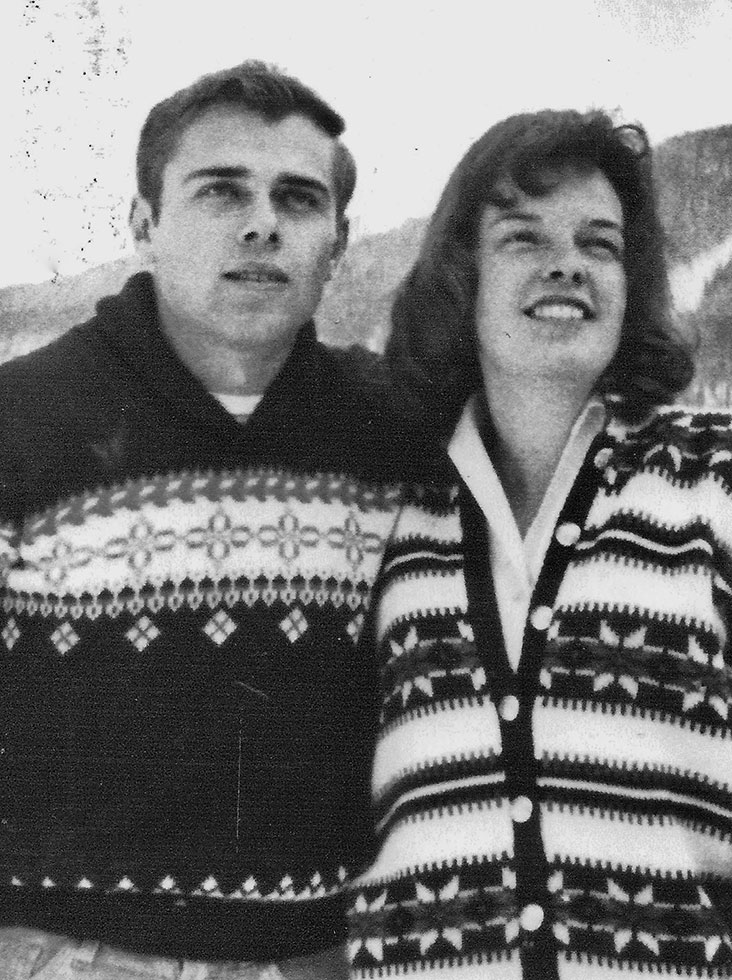 Terry and Ann 1965