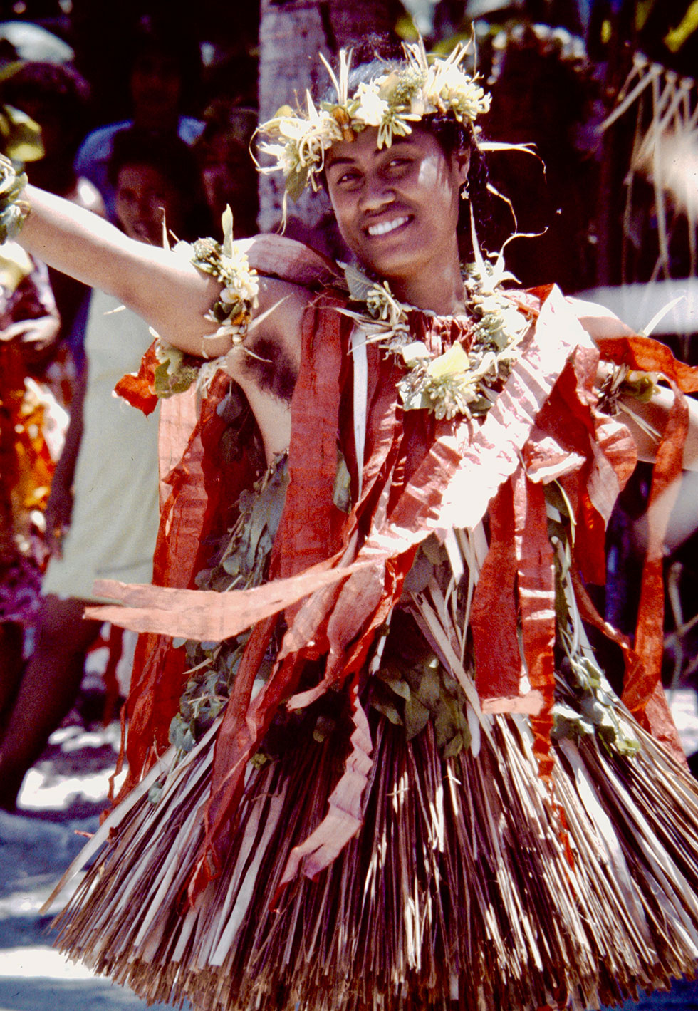 Tuvalu dancer